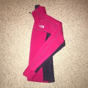 The North Face pink athletic jacket
